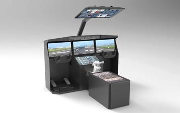 睿滨飞行模拟飞机驾驶舱定制