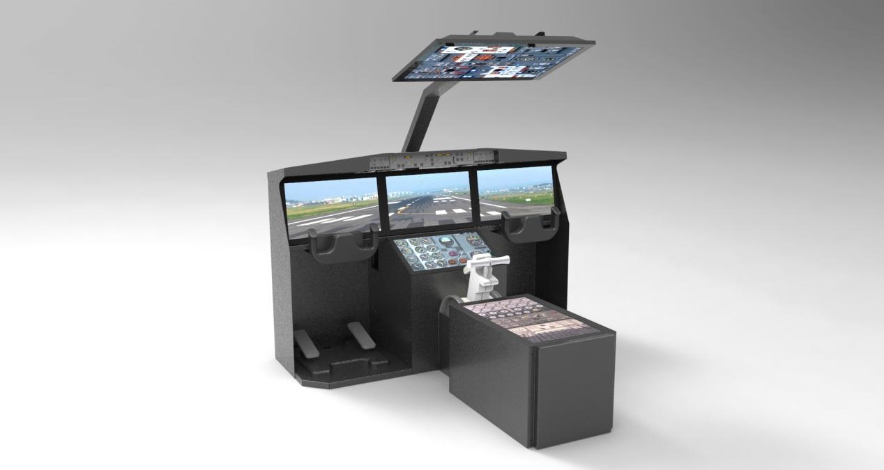 睿滨飞行模拟飞机驾驶舱定制-云茂通讯客户案例