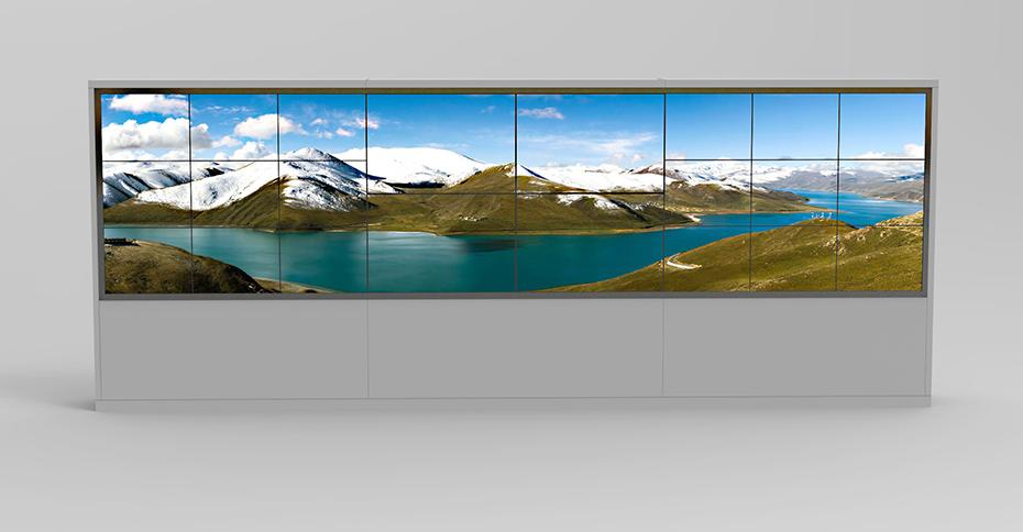 无缝拼接电视墙