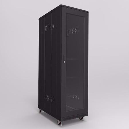 42U玻璃门服务器机柜