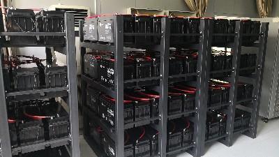 昆明云茂为昆明医学院图书馆定制的UPS蓄电池架交付使用