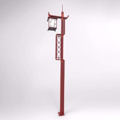 仿古式基站灯杆