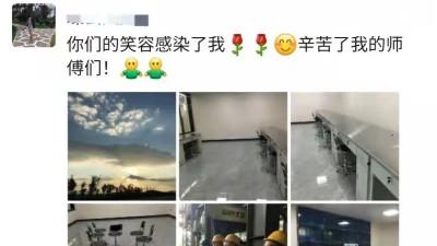 昆明云茂公司为客户定制的不锈钢操作台获得用户好评